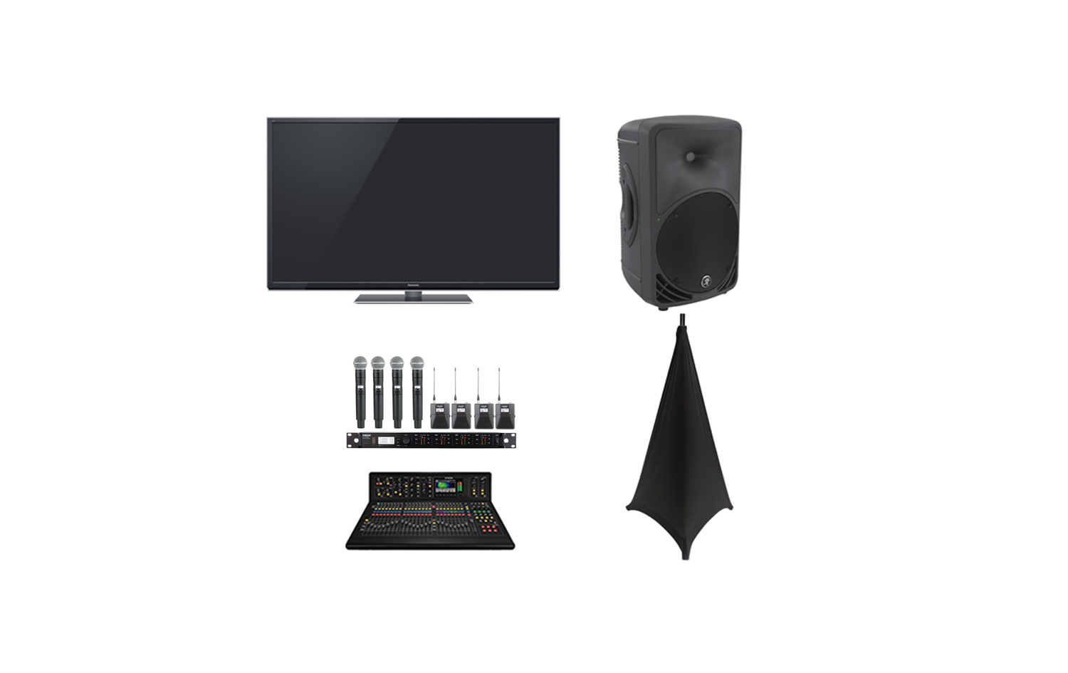 plasma av package with mics