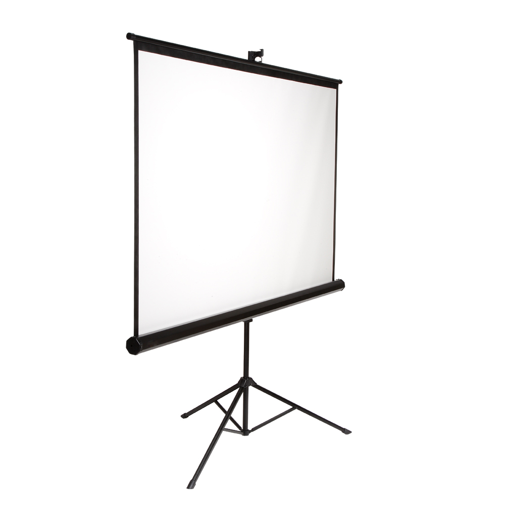 "100"" 4:3 projector screen"