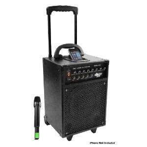 Battery powered wireless PA