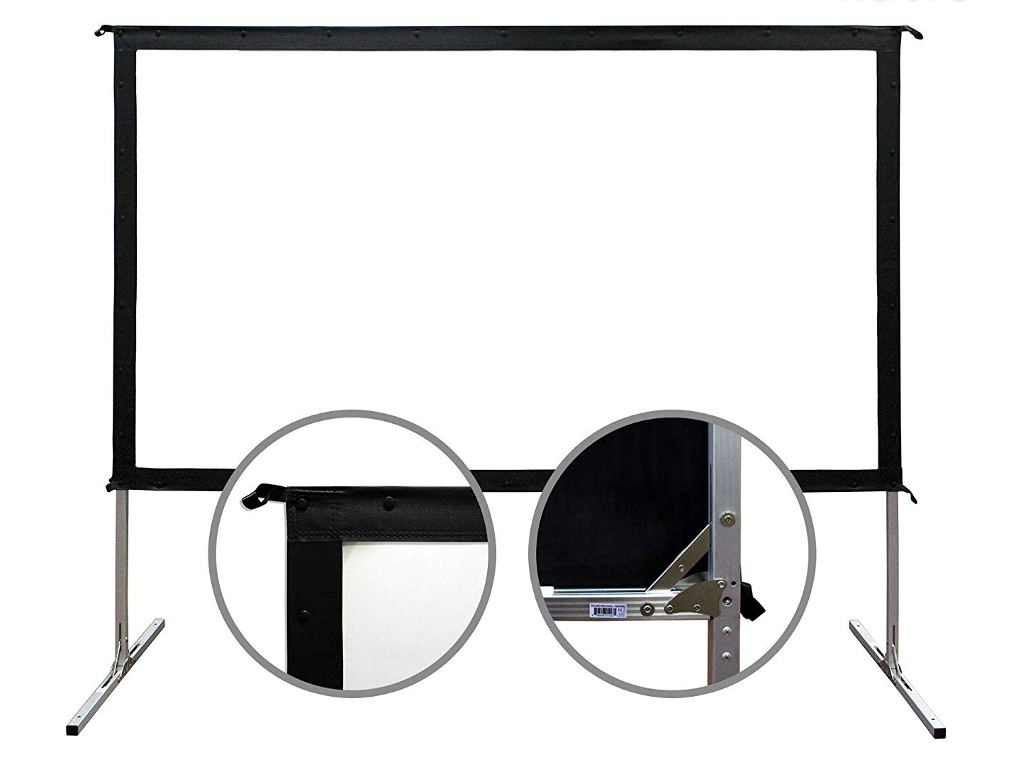 "Elite Screens 120"" Fast-Fold Front Projection"