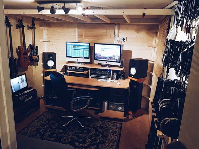 New control room refurb so far!