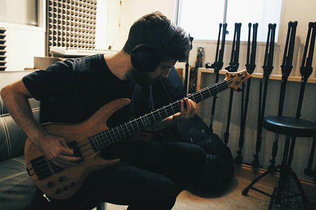 Bass for the new @shrines_uk EP complete!  #Bass #Guitar #Recording #Studio #Music #Band