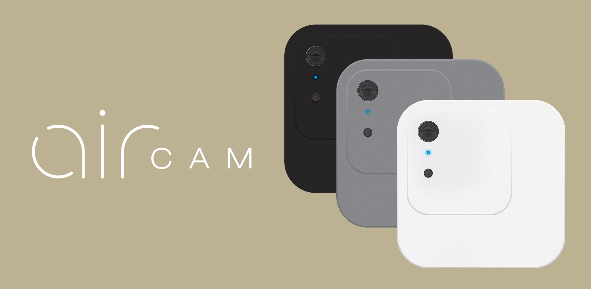 Air Cam - This is a side project I worked on to create a wirelessly charged adhesive camera that streams video and notifications to your phone.Branding, Industrial Design, Web Design