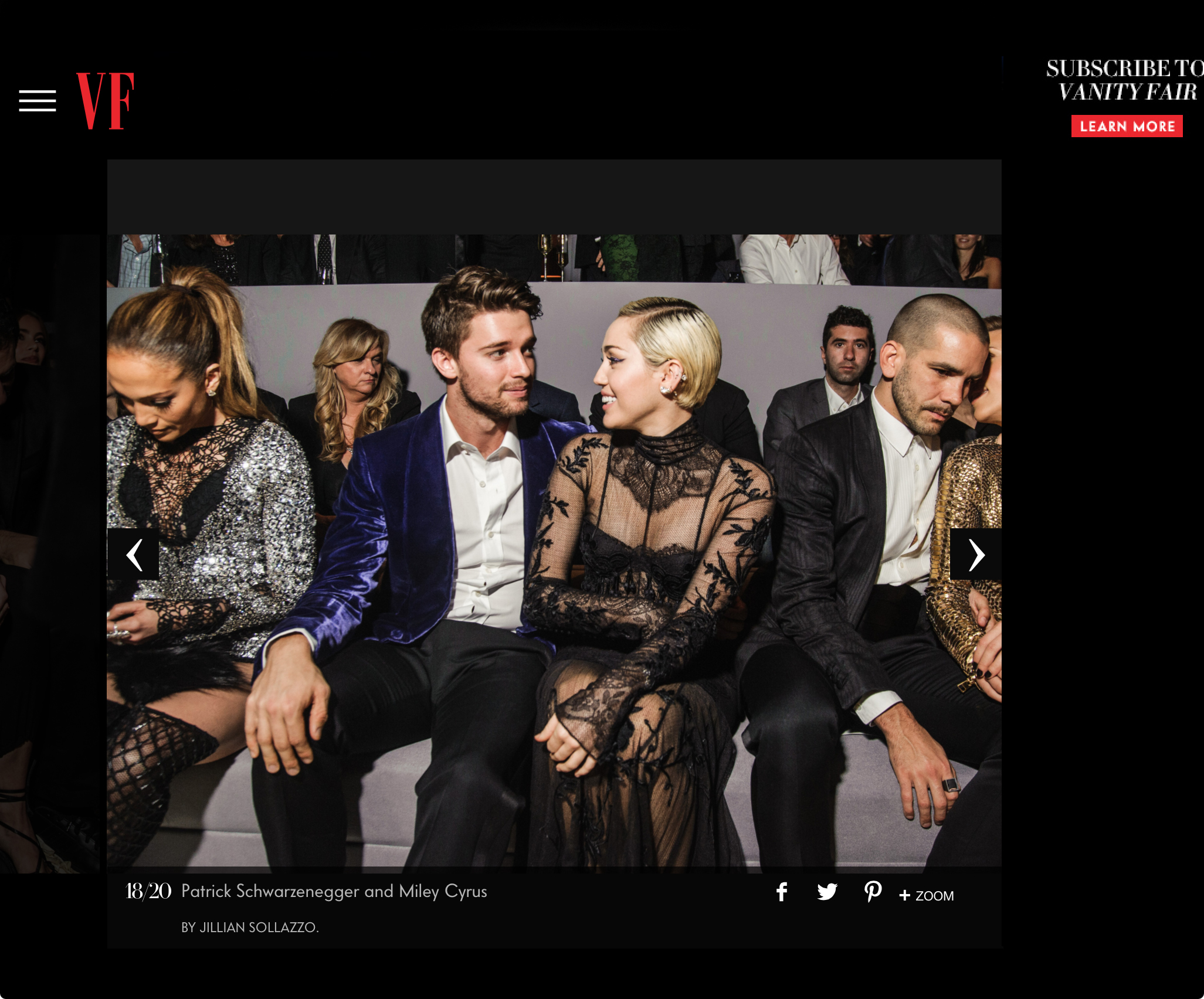 2015.02.21-Beyonce Gwyneth Miley and More Turned out for Tom Ford LA Show-Patrick Schwarzenegger and Miley Cyrus.jpg