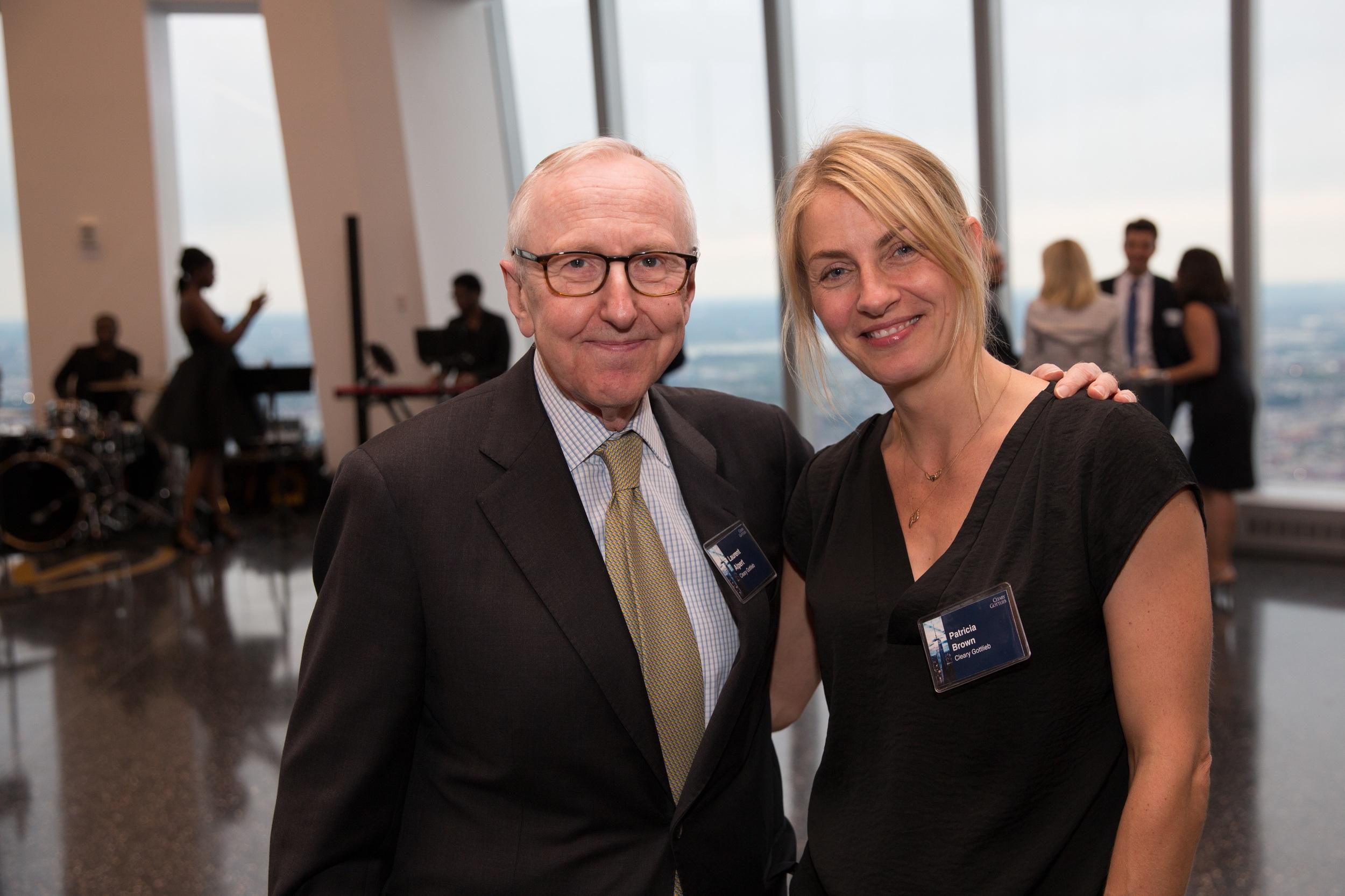 With the very lovely Laurent Alpert, Partner, New York.