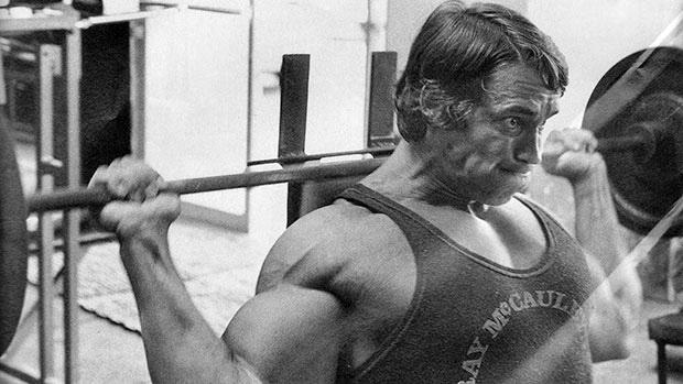 Arnold Behind the head press.jpg
