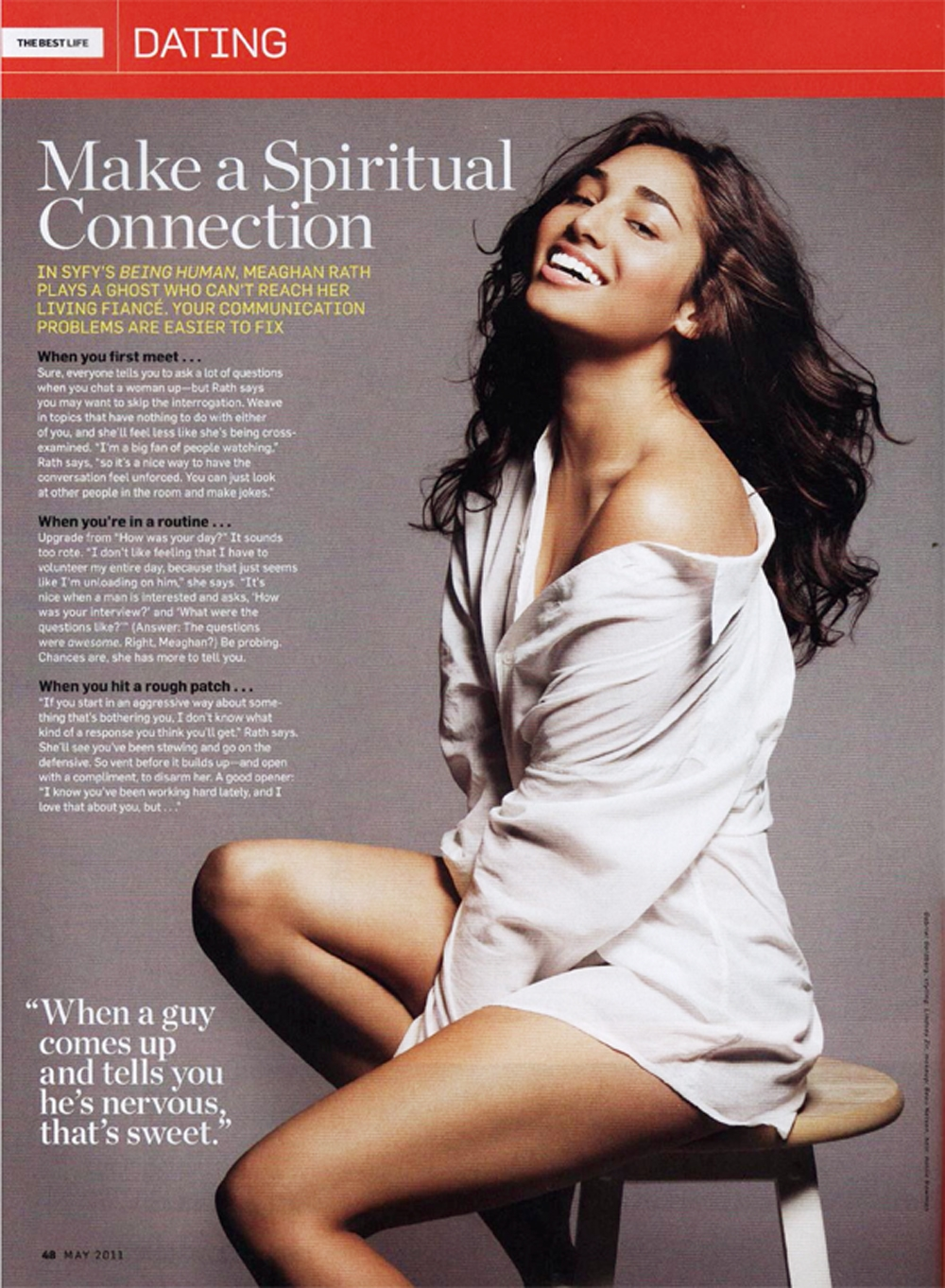 Men's Health, Meaghan Rath