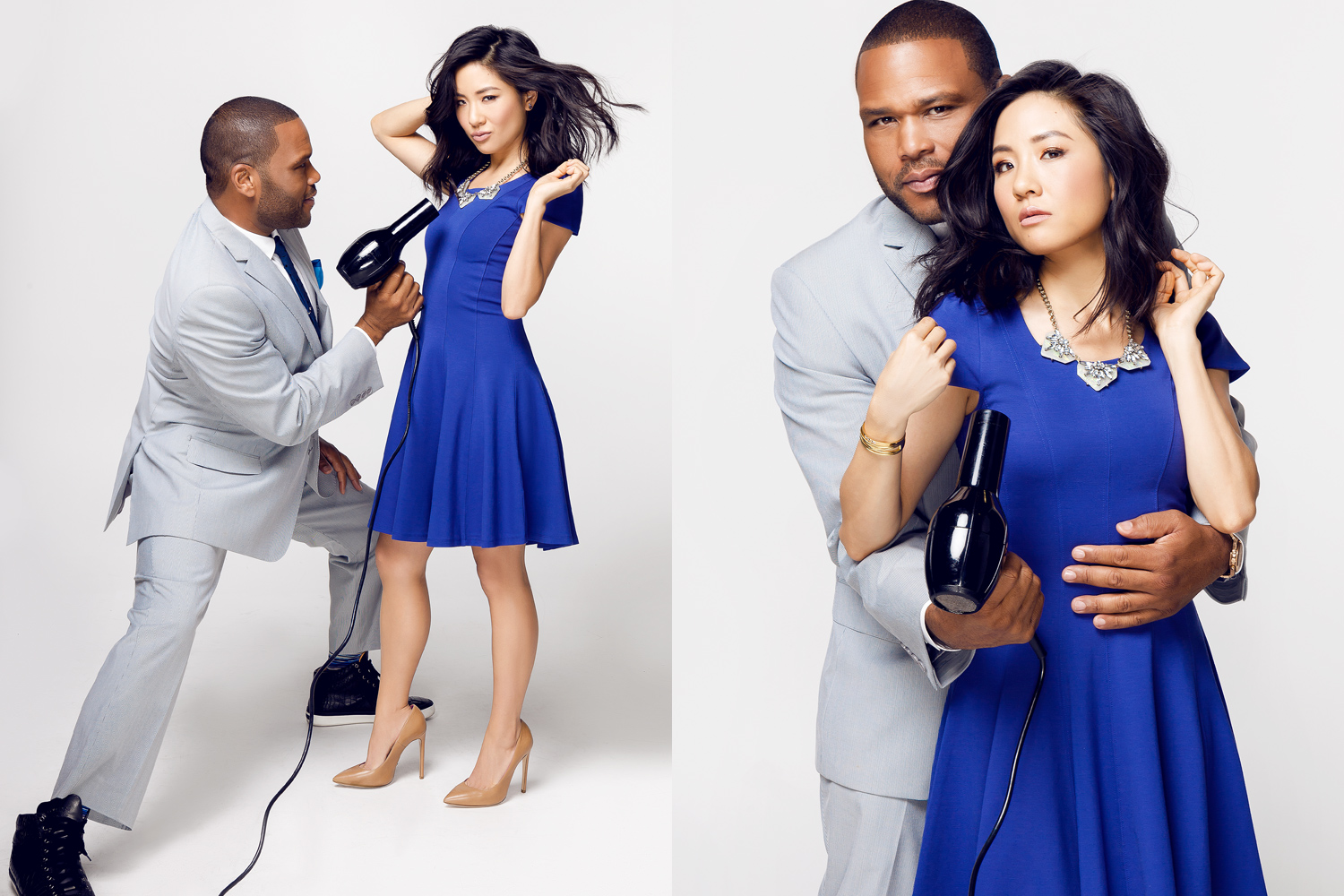 Anthony Anderson & Constance Wu
