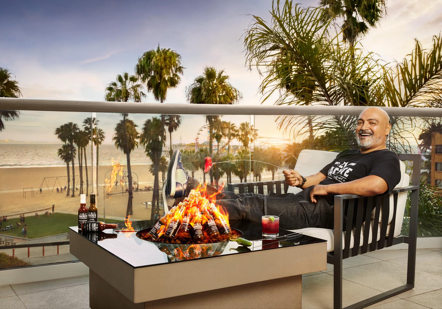 Loews Santa Monica + El Machete Sauce