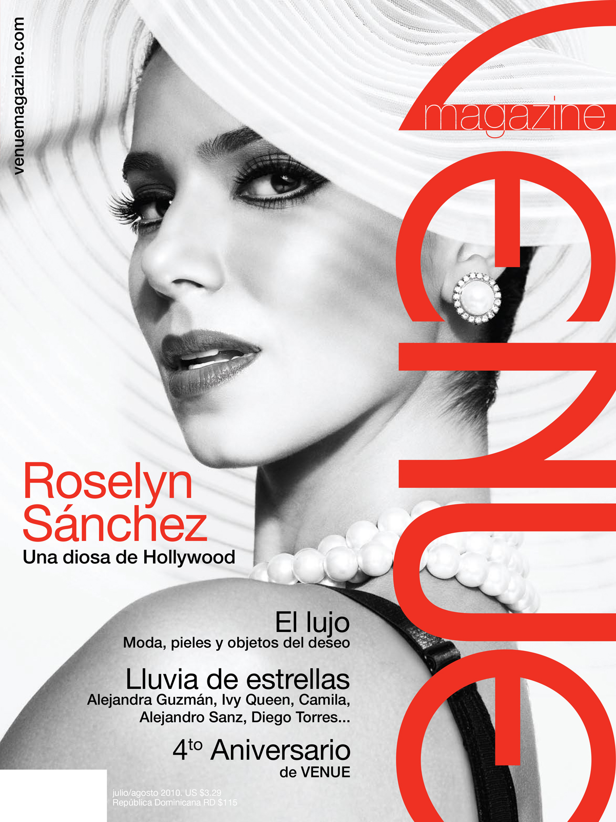 Roselyn Sanchez, Venue magazine