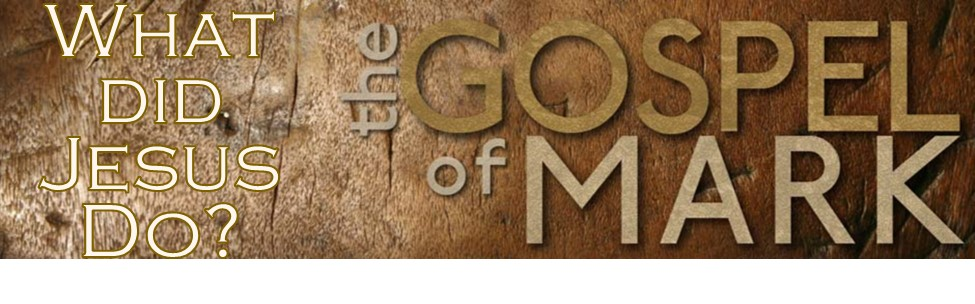 The Gospel of Mark - January 11, 2015 - November 15, 2015