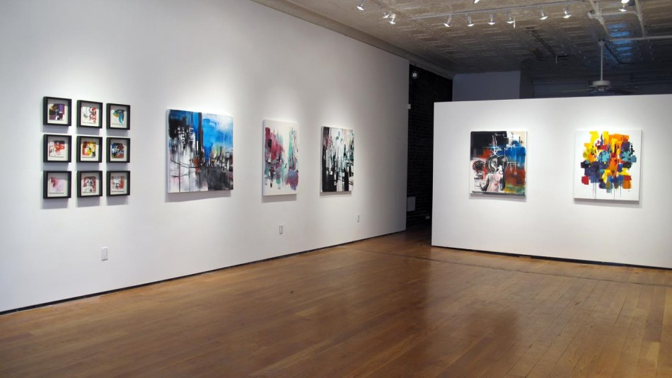 Brad Robson at Brooklyn gallery for his first solo exhibition