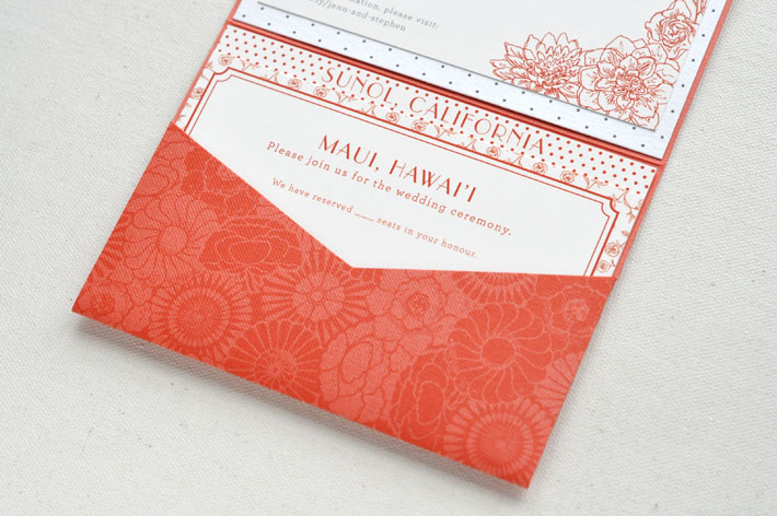 Invitation by Paper & Type