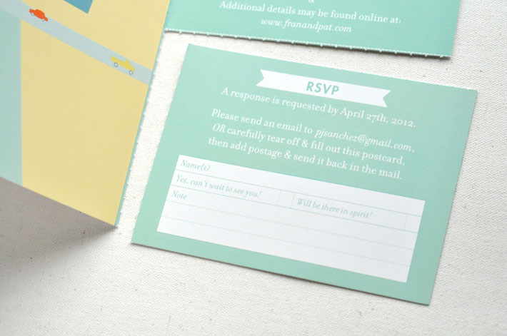 Poster invitation by Paper & Type