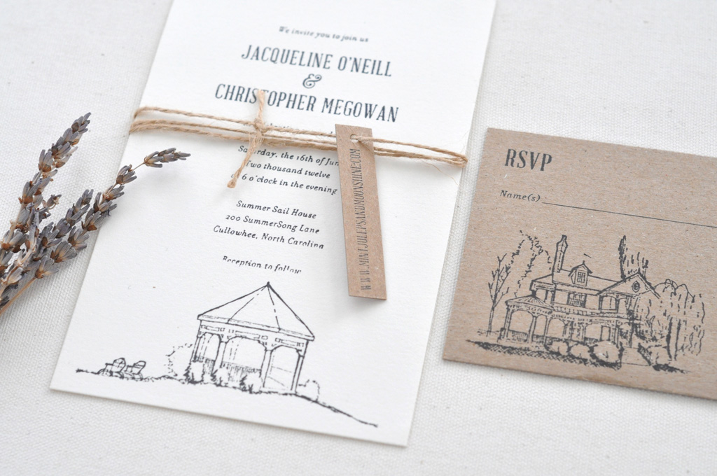 Summer Sail Wedding Invitation / Paper & Type