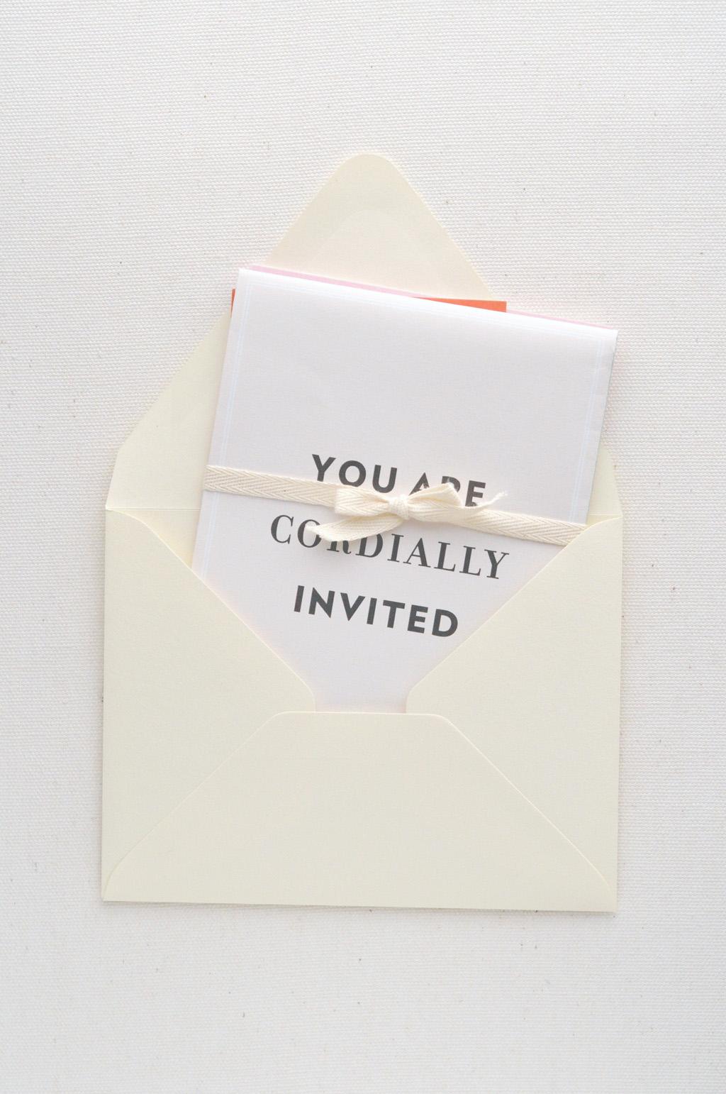 Whitney & Brent Map Invitation / Paper & Type