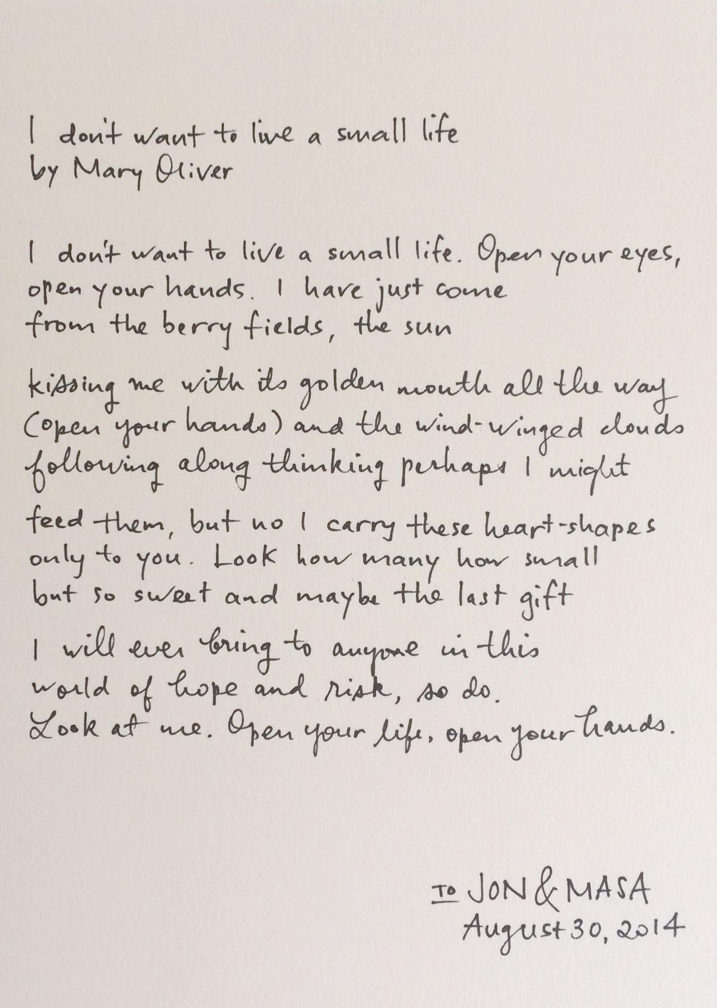Handwritten / Paper & Type