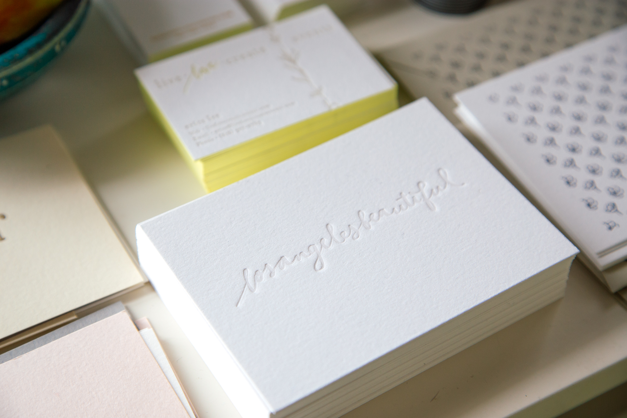 Paper & Type / styled by Justina Blakeney, photographed by Dabito.