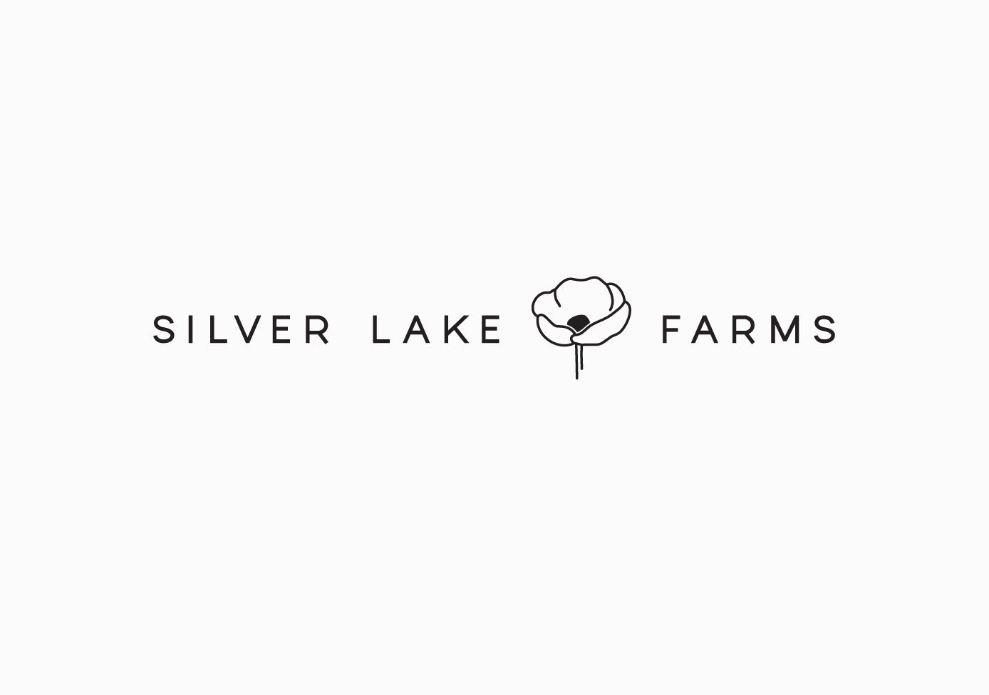 Silver Lake Farms Logo & Identity / Paper & Type