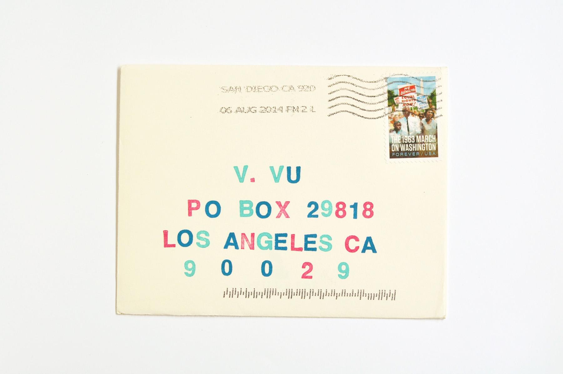 Pen Pal Post, No. 2 / Paper & Type