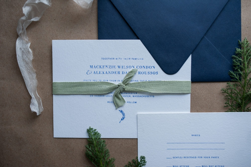 Simple Suite by Paper & Type, styled and photographed by Emilie Anne Szabo