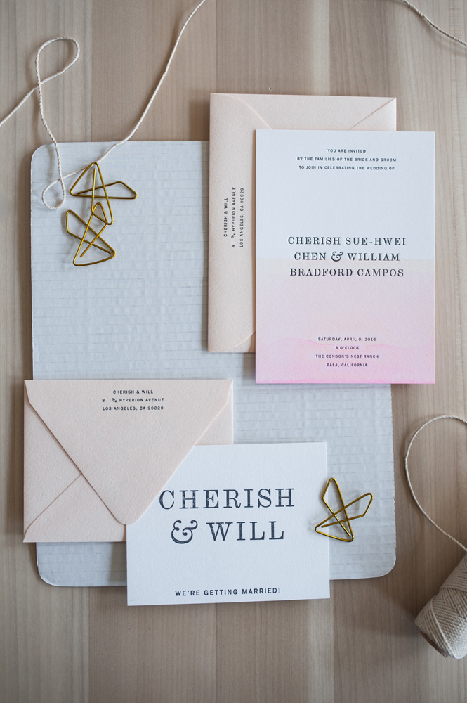 Sunset Suite by Paper & Type, styling and photography by Emilie Anne Szabo