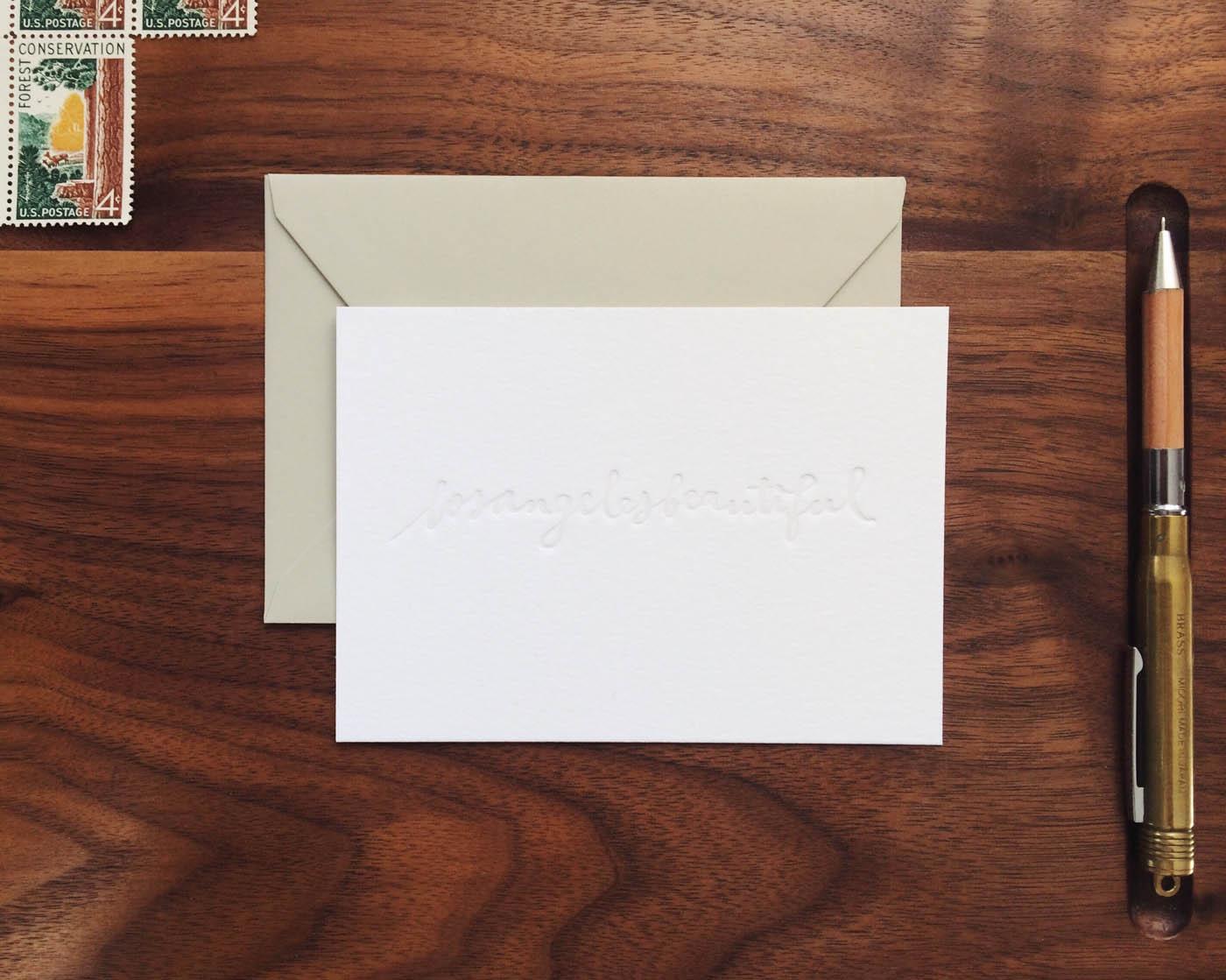losangelesbeautiful / Paper & Type