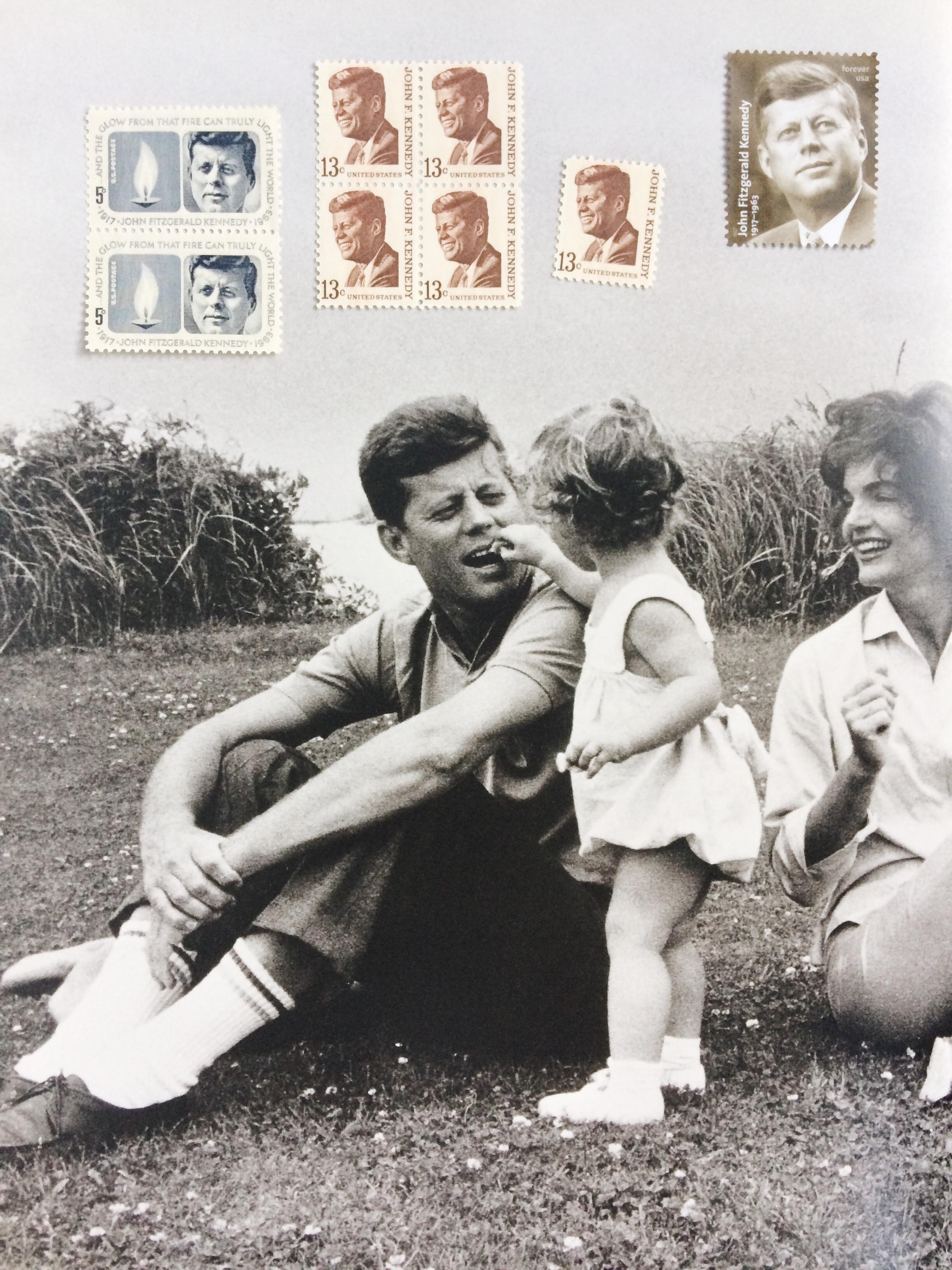 JFK Postage Stamps / Paper & Type