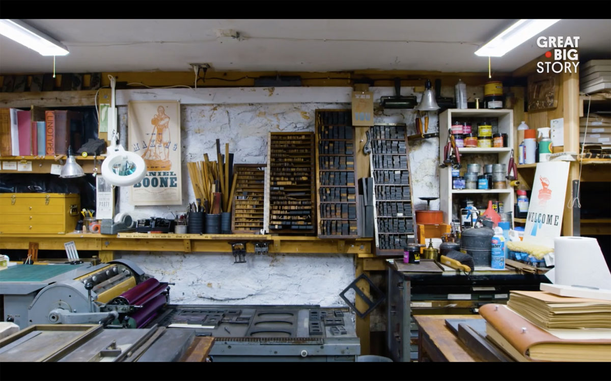 Studio of Ross MacDonald