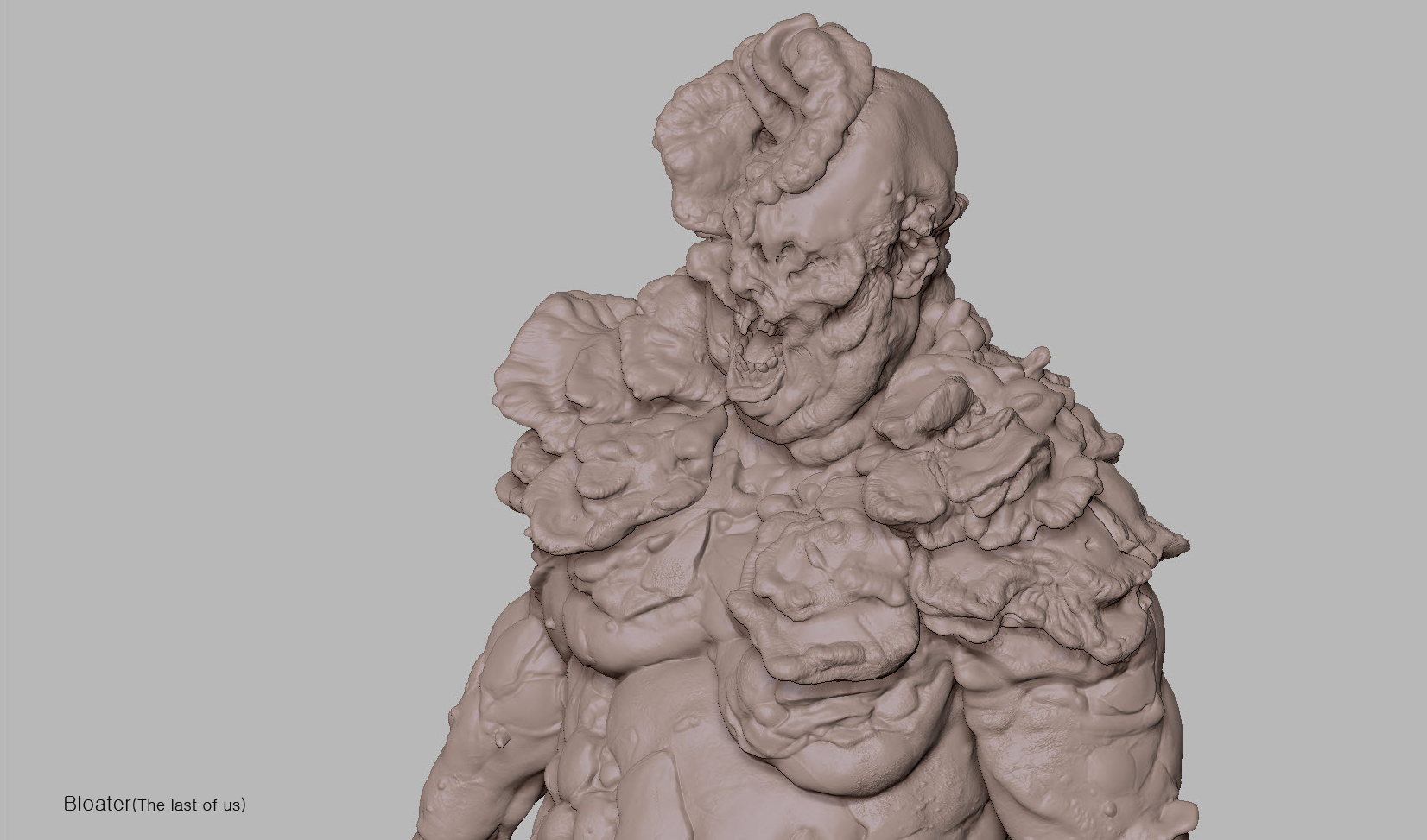Third Bloater sculpt image