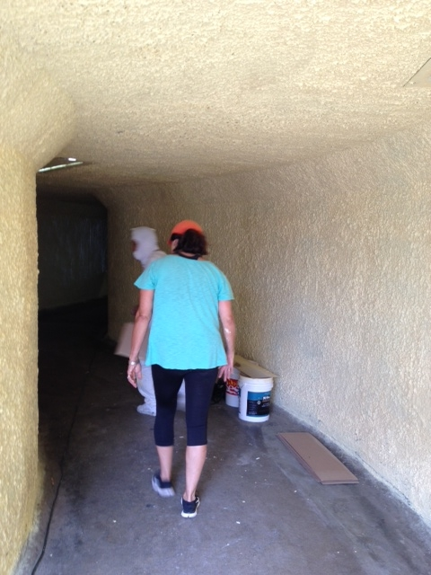 beach tunnel painting in progress 2.JPG