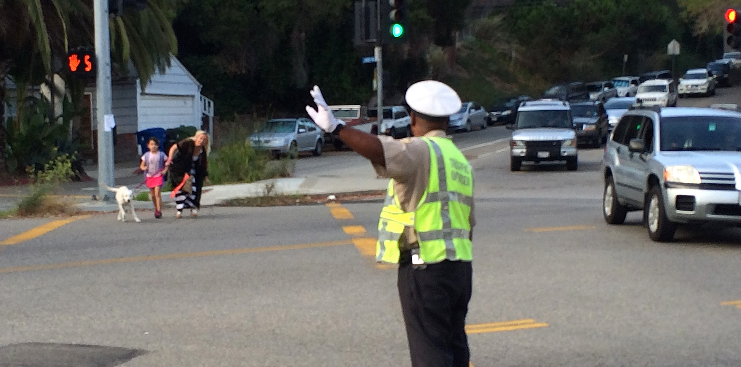 BOCA and SMCCA requested a traffic officer for the opening two weeks of school.