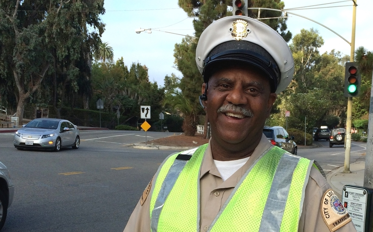 Officer James Black has been doing an excellent job.