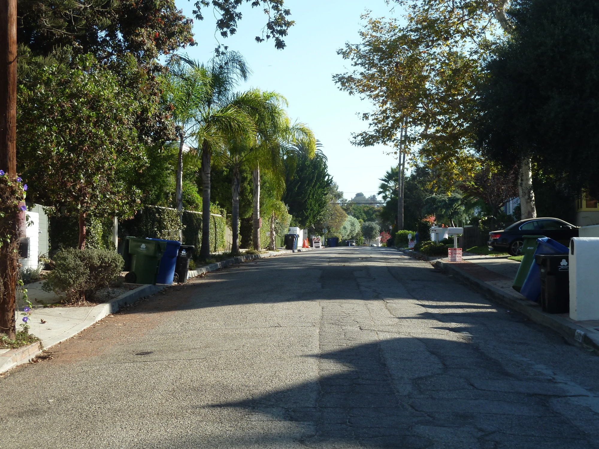 Mabery with no cars