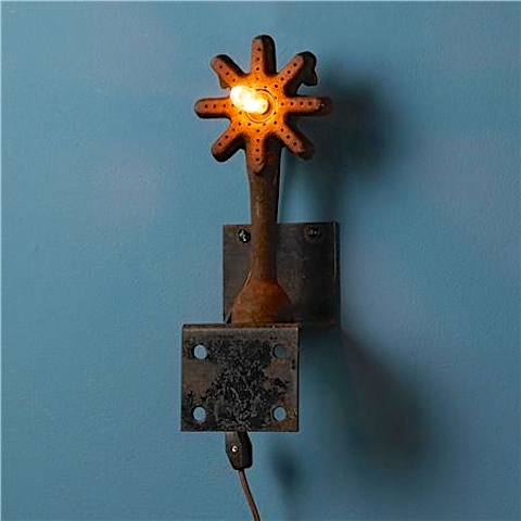 """""""Umanoff's lights look like relics you might discover in an archeological dig—if your field site were a series of flea markets and scrap yards (and I say that with all due respect)."""""""