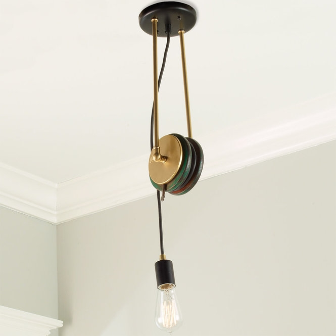 UMANOFF COLLECTION LIBRARY PULLEY PENDANT