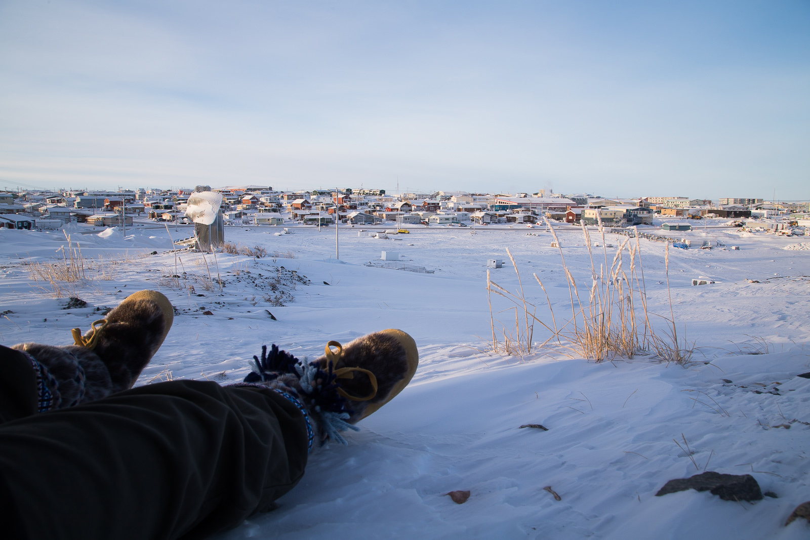 Rankin Inlet: view from the hilltop