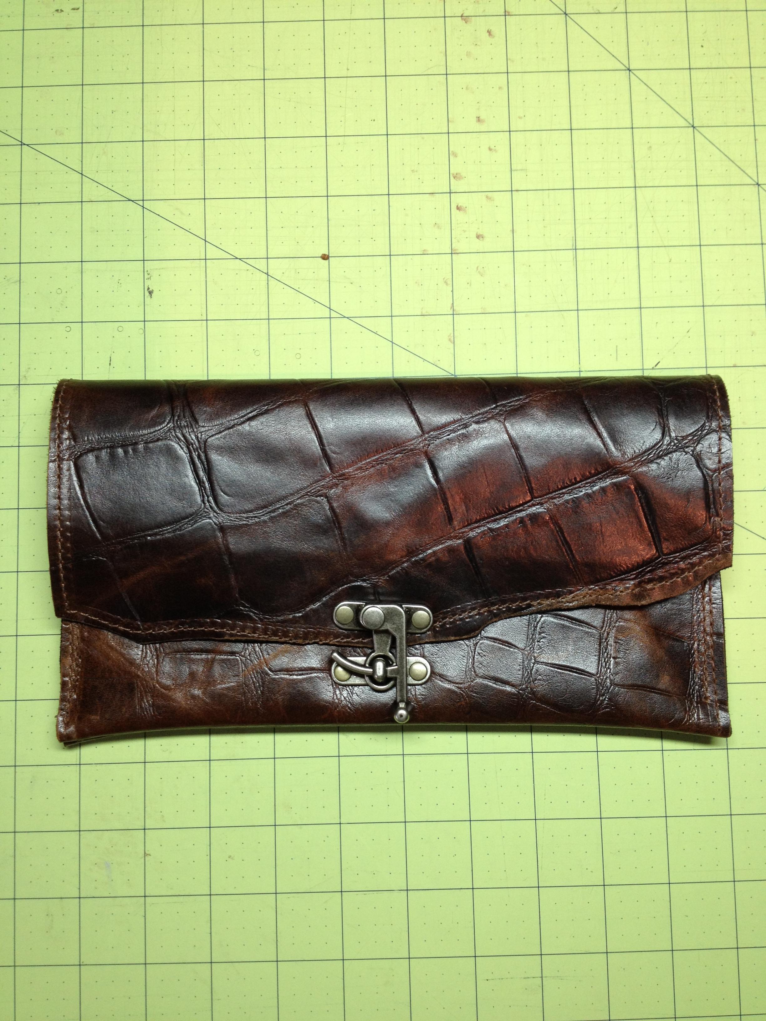 Textured Clutch
