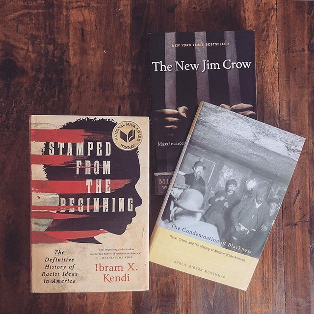 "These three books help trace the long history of anti-blackness in the criminal legal system. The New Jim Crow does a fantastic job of connecting the system, as it exist today, to historical systems of social control. The Condemnation of Blackness adds additional context by examining the mythical link between Blackness and criminality. Stamped From the Beginning rounds the trio out as, ""the definitive history of racist ideas in America."" ___________ #whencrackwasking #greatreads #bookreview #bookstagram #bookworm #reading #amreading #nonfiction #books #instabook #bookrec #warondrugs #crime #punishment #prison #justice #criminaljustice #criminaljusticereform #law #race #racism #lawenforcement #igreads"