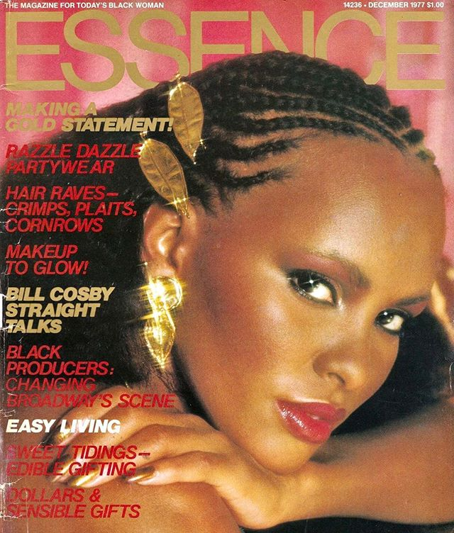 Rasheeda Moore gained notoriety in 1990 when she, one of D.C.'s Mayor Marion Barry's many mistresses, took part in an F.B.I. sting to catch him smoking crack. Before becoming involved with Barry, however, Moore earned a living as a model. She even covered the December 1977 issue of @essence magazine. #blackmagcovers #whencrackwasking