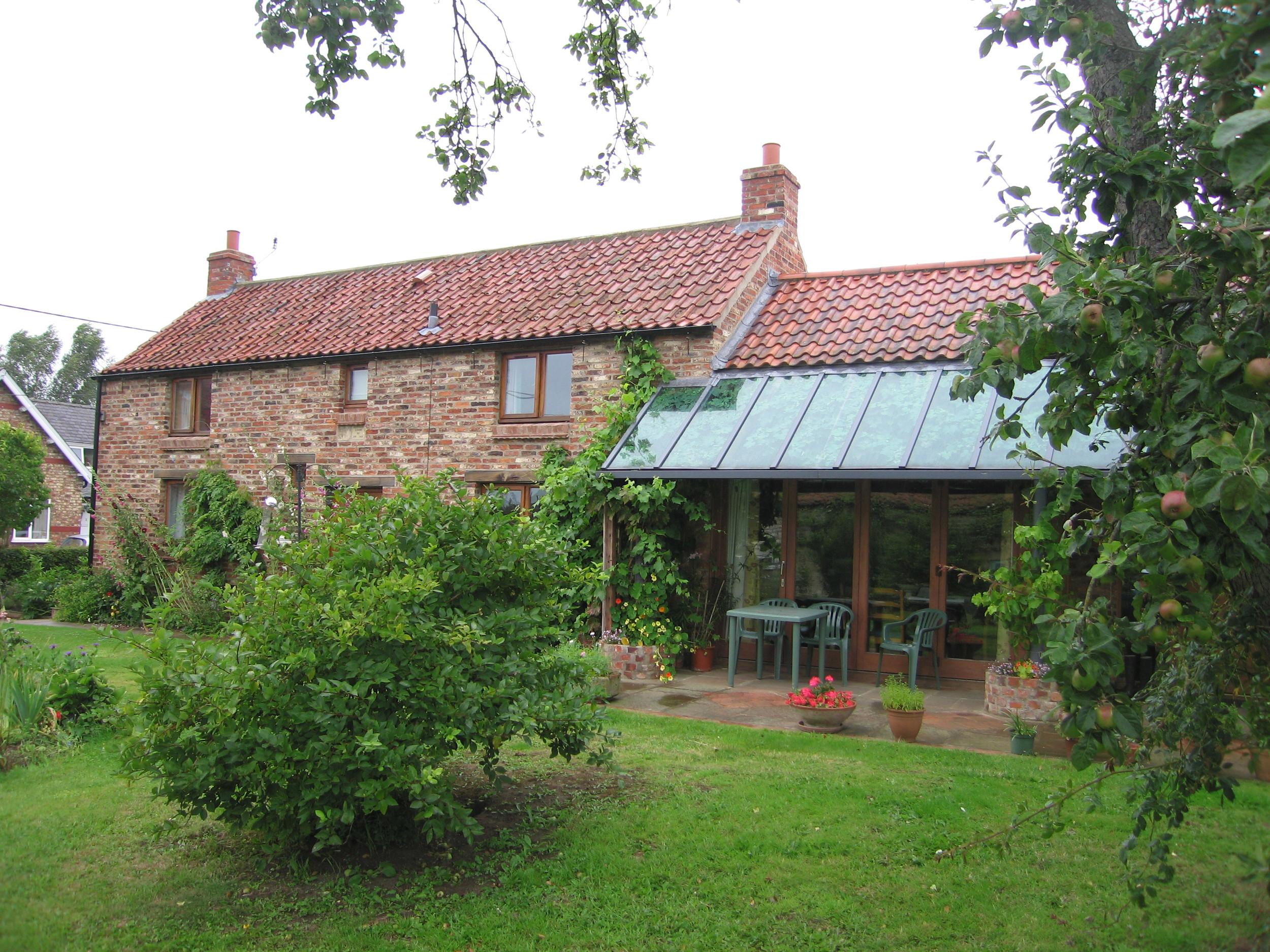 Re-built Cottage