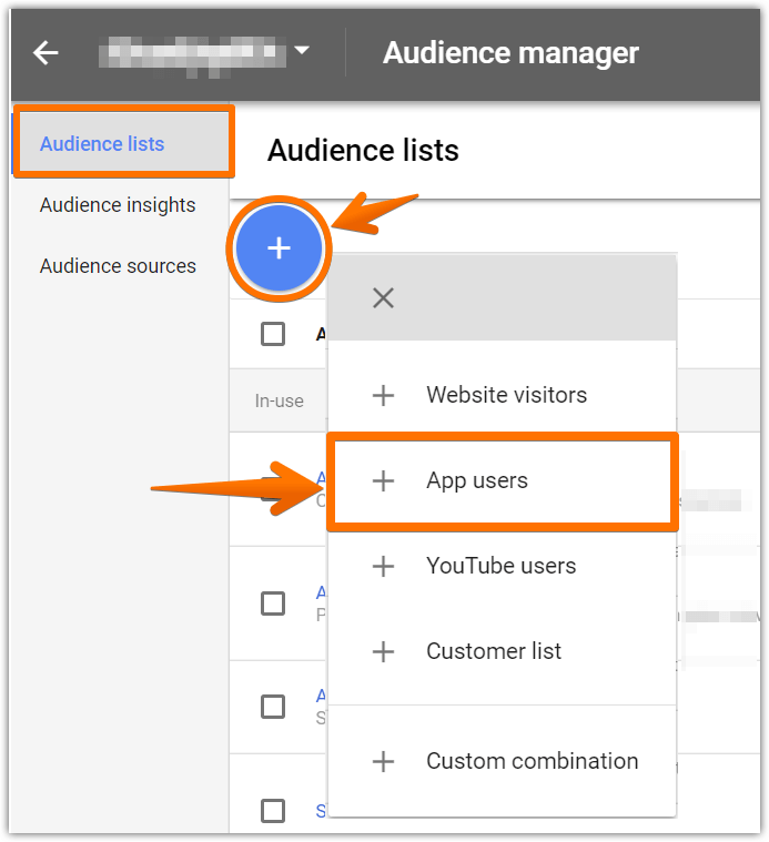 Add app users audience list 01.png
