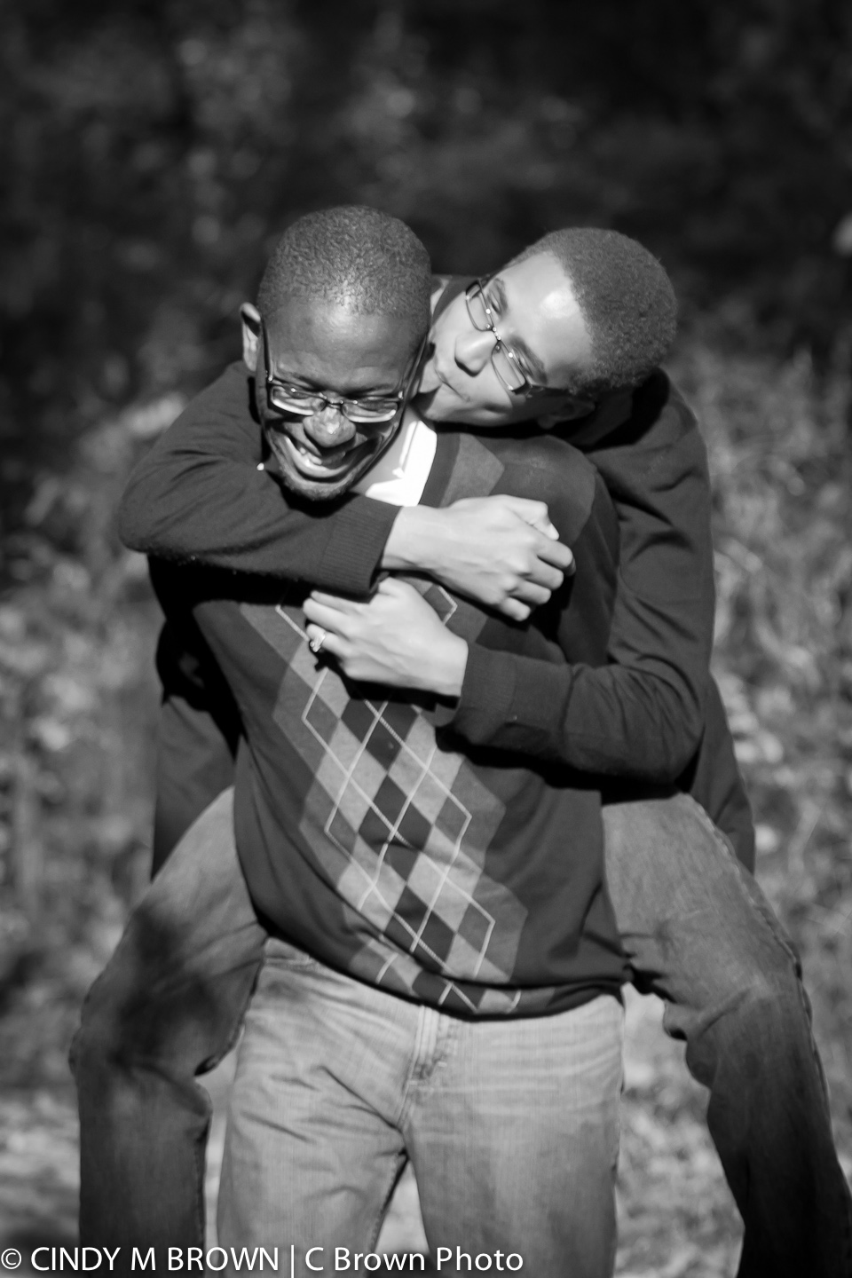 Two men engagement photos