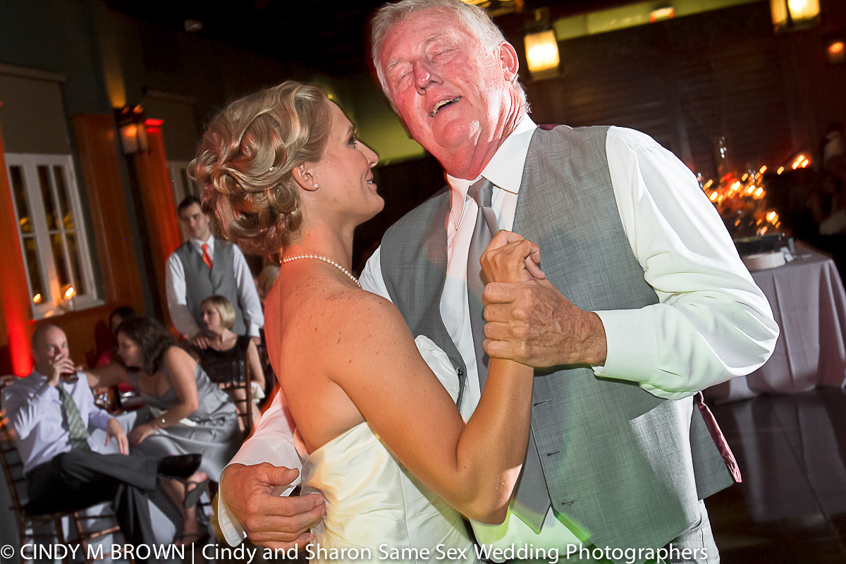 Father-in-law dances with daughter's new wife