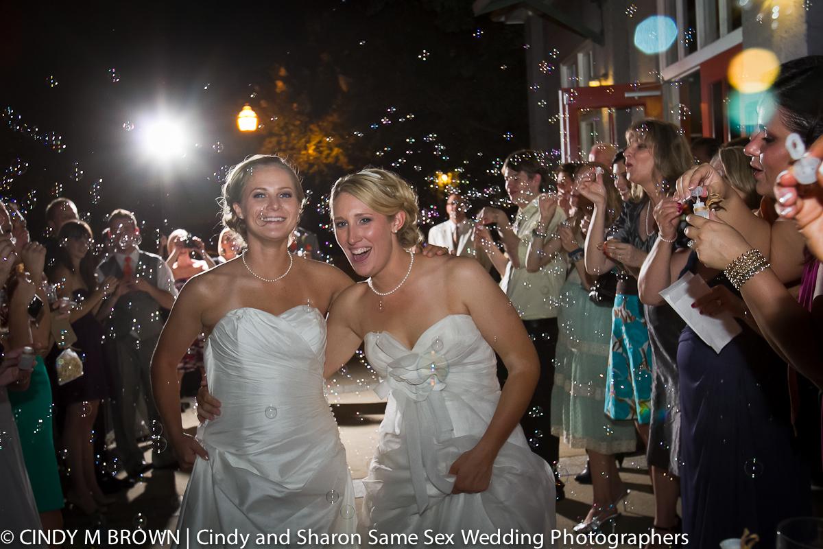 Gay wedding photographs