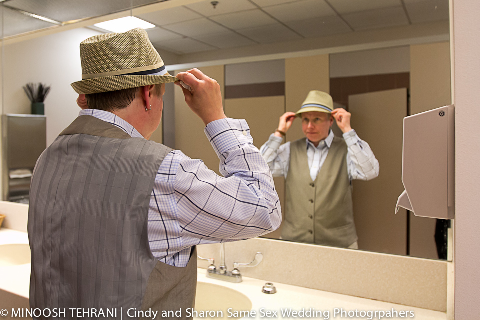 Getting Ready at same-sex wedding