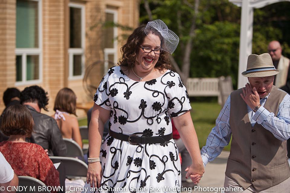 Gay wedding at UU Congregation