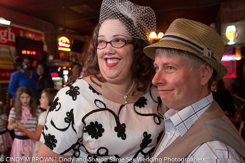 Lesbian wedding photojournalists
