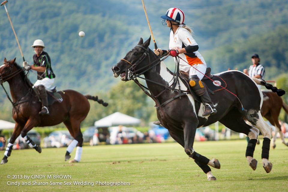 gay wedding photojournalist documents polo match