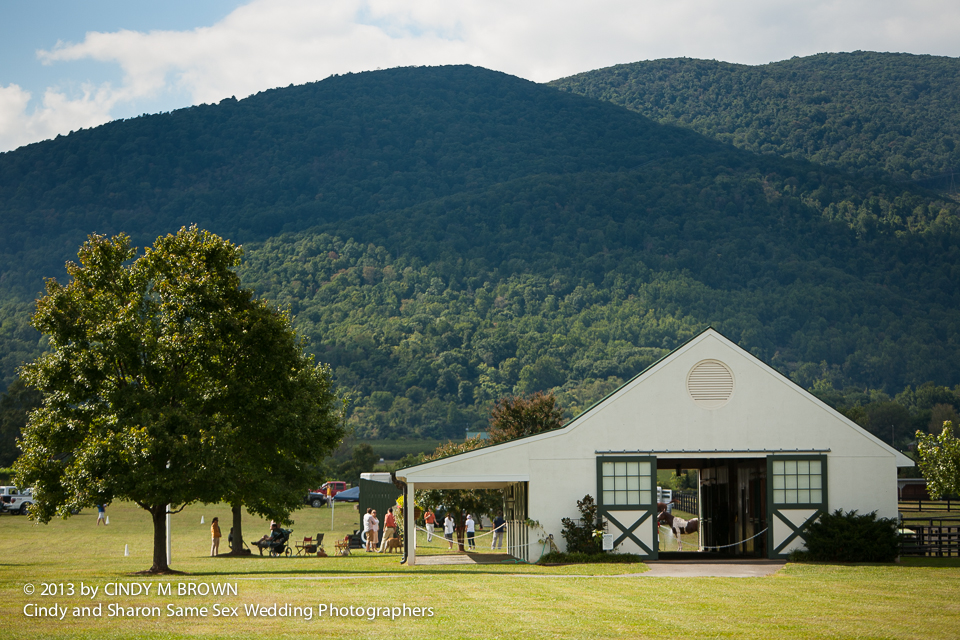 Polo in the mountains by Cindy and Sharon Same Sex Wedding Photographers